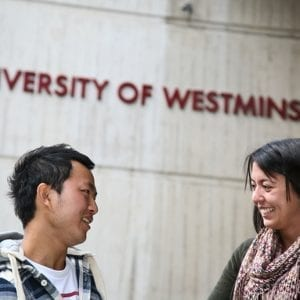 Dar nevėlu įstoti į University of Westminster